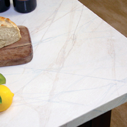 How to paint faux marble finish