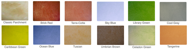 Pre-mixed decorative glaze colors