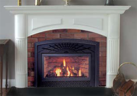 decorative plaster fireplace mantle