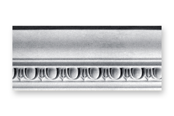 Plaster crown molding