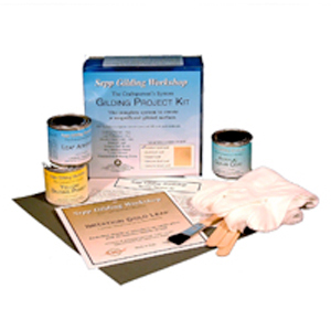 Gold leaf kits for gilding