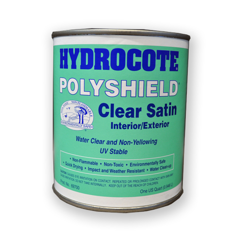 Hydrocote waterbased sealer and top coat