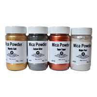 Mica powder and pearl powders