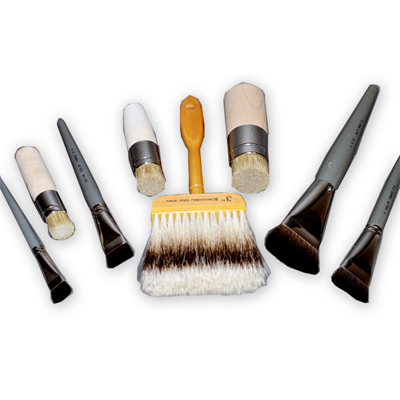 sable hair artist brushes