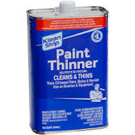 solvents and thinners for paint