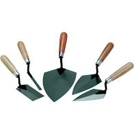 trowels for applying concrete and masonry