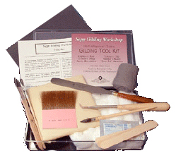 Traditional Water Gilding kits and materials