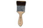 Squirrel mop brushes for 16kt gold leaf