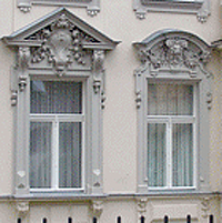 Baroque design style and architecture