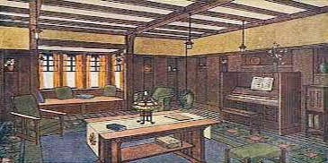 craftsman interior design style