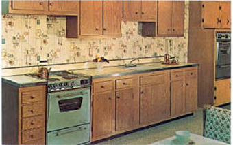 fifties style kitchen
